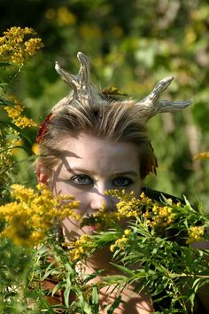 Wild Hunt Faun Horns by Azkadellia on Etsy, $30.00