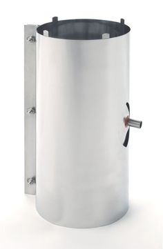 """Heat-Fab CCA14DRN 14"""" Saf-T Vent CI+ Horizontal/Vertical In-Line 1/2"""" Drain Stainless Steel Vent Pipe AL29-4C Drain"""