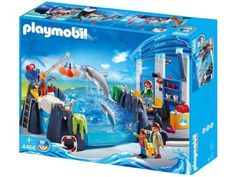 Playmobil Zoo Dolphin Basin by Playmobil. $152.99. Playmobil toys are dedicated to encouraging kids to use their imaginations. This Zoo set has four figures, two dolphins, two seagulls and lots of accessories. Recommended for ages 4 years and up. Features locking-grid pieces that allow children to easily change their play worlds. This set is compatible with all other Playmobil vehicles, accessories and environments. Swim with the Dolphins! Includes a Dolphin Pool that can...