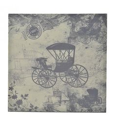 PRINTED CANVAS WALL PAINTING 'CAR' 60X2_5X60