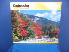 """NEW 2002 Kodacolor """"Swift River, New Hampshire"""" 1000 Piece Puzzle #NotApplicable"""