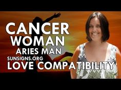 Cancer Woman Aries Man – A Tough & Fiery Relationship - YouTube