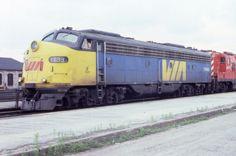 VIA Rail E8A #1899 @ North Bay ON - 1980 Ex-CP Rail