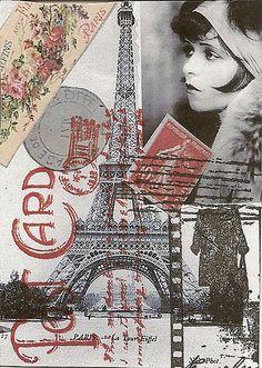Paris Post Card - Traded   por annstanley59