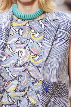 patternprints journal: PRINTS, PATTERNS AND DETAILS FROM S/S 14 WOMENSWEAR COLLECTIONS, PARIS FASHION WEEK / 6