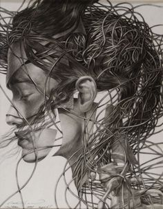 "Cane Dojcilovic; Pencil, Drawing ""Drawing #5"""