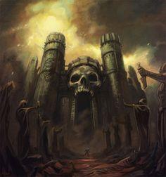Castillo calavera, de Nathan Rosario
