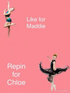 Chloe should win because I love maddie but Chloe is an amazing dancer too. And maddie has already gotten a lot of times to shine. Let Chloe win for once.