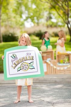 Lemonade Stand Printables.