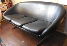 Overman Pod couch/sofa mid century modern retro vintage Eames madmen style!