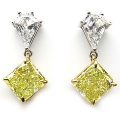 Radiant Fancy Yellow Diamond