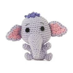 Finally I finished a new pattern! Here is Heffridge Trumpler Brompet Heffalump IV, also known as Lumpy ;)  It took a while because I was (and still am) very busy with my internship as dietitian in a nursing home, which started 2 weeks ago.  Pattern is available in:          Translations: Iratxe Ocariz (ES), Pia Pfeifer (DE), Kim Ackermann (FR), Jette Klemmensen (DK), Bruna Otsuji (PT)