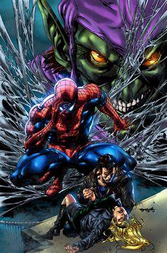 Marvel,Вселенная Марвел,фэндомы,Spider-Man,Человек-Паук, Питер Паркер,Green Goblin,Зеленый гоблин, Норман Озборн,Gwen Stacy,Женщина-Паук, Гвен-Паук, Гвен Стейси