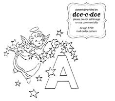 entire embroidery pattern alphabet