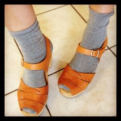 Socks and sandals - so wrong yet so right! - @Donna Flower- #webstagram