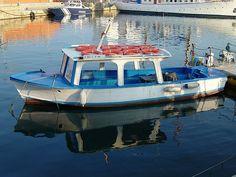 Boat in harbor area, near old port, Barcelona. by StevenC_in_NYC, via Flickr