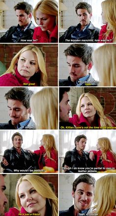 Captain Swan - Once Upon a Time #JenniferMorrison #Colin O'Donoghue