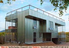 celosias chapa de acero perforada para fachadas - Buscar con Google