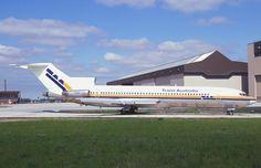 TAA Boeing 727-276 (VH-TBG) September 1985