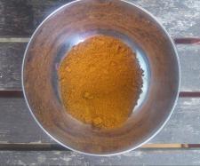 Rezept Tandoori Masala, indische Gewürzmischung für Tandoori-Huhn - ich habe es ohne Schärfe gemacht und nehme es für Butter-Chicken, zusammen mit Garam Masala