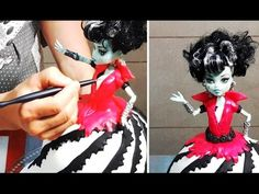 Doll Cake Decoating -How To. Tutorial by CakesStepbyStep