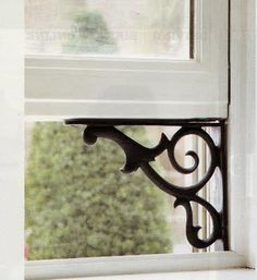 Clever little trick to keep your window open...beautifully!