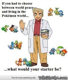 Always choose the Pokemon