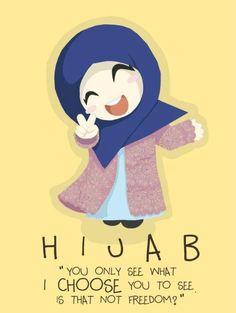Hijaab Muslim Females