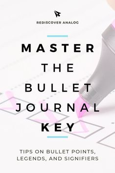 16 Best Bullet journal signifiers images in 2018 | Bullet