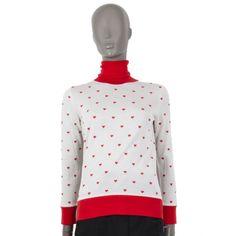 Hermes Heart-Turtleneck Asymmetrical Sweater, Cashmere Turtleneck, Luxury Shop, White Sweaters, Off White, Knitwear, Artsy, Turtle Neck, Knitting