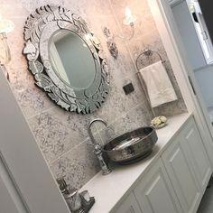 60 Ideas for bathroom sink ikea round mirrors Bathroom Sink Tops, Bathroom Layout, Bathroom Wall Decor, Bathroom Flooring, Bathroom Lighting, Bathroom Cabinets, Ikea Sinks, Modern Small Bathrooms, Modern Sconces