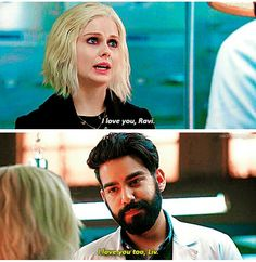 "iZombie 2x13 ""Looking for Mr. Goodbrain, Part 2"" - Liv and Ravi"