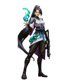 Sage (codename Thorne) is one of the playable Agents in Valorant. Sage creates safety for herself and her team wherever she goes. Space Anime, Female Hero, Gray Matters, Anime Scenery, Badass Women, Female Characters, League Of Legends, Game Art, Concept Art