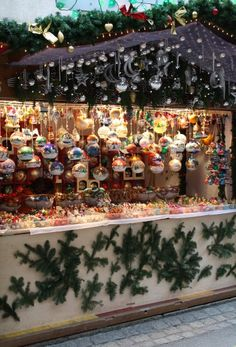 Christmas market in Basel, Switzerland.