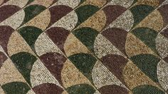 rome - baths of caracalla palaestra mosaics