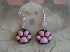 Paw print earrings                                                                                                                                                                                 More