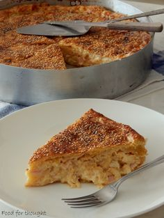 Food for thought: Ζαμπονοκασερόπιτα Food For Thought, French Toast, Recipies, Rolls, Cooking Recipes, Tasty, Bread, Breakfast, Desserts