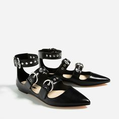 FLAT STRAPPY SHOES-View all-SHOES-WOMAN | ZARA United States