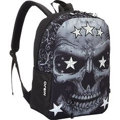 Mojo Mr. P Star Skull Backpack -- Be sure to check out this awesome product. (This is an Amazon Affiliate link and I receive a commission for the sales)