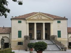 Villa Emo: The portico is the full height of the house - about thirty feet -  supported by four Doric columns. | by Blue Poppy