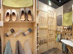 設計事務所ima Display Shelves, Shoe Rack, Shelf, Retail, Home, Pantries, Shelves, House, Shoe Cupboard