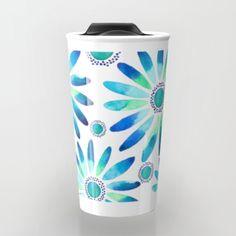 Daisies Travel Mug #travel #mug