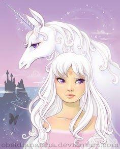 Unicorn with unusual eyes