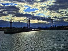 Duluth Lift Bridge Photograph  - Duluth Lift Bridge Fine Art Print