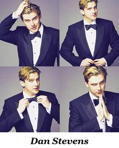 Dan Stevens. No one can ever replace Matthew Crawley! I want to run my fingers through his hair and stare into those incredible eyes of blue! More than likely I'll pull his hair, and mutter something unintelligible before attacking him. Hahaaaaa!