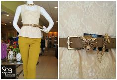 A purrrrfect belt that would love to wrap it's paws around you and all your fashionable blouses!