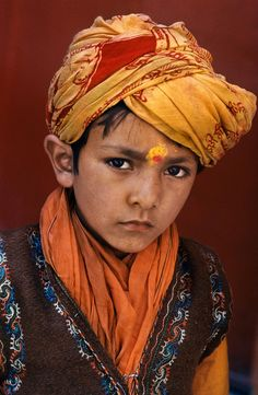 Indian Boy... Photography by Steve McCurry