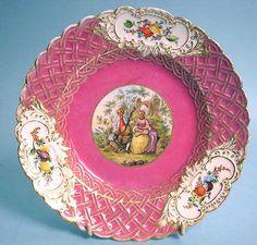 MEISSEN plate 1870