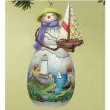 Image result for jim shore snowman family hanging ornament