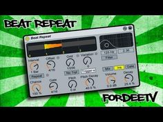 Ableton Live Tutorial - How to Use the Beat Repeat Effect - YouTube